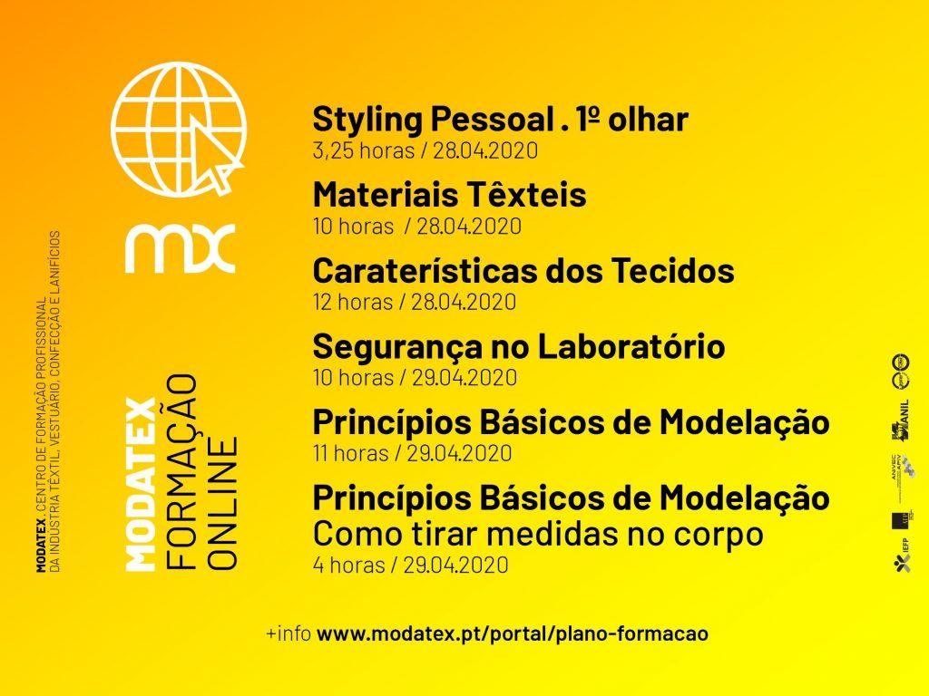 Modatex formação online 1