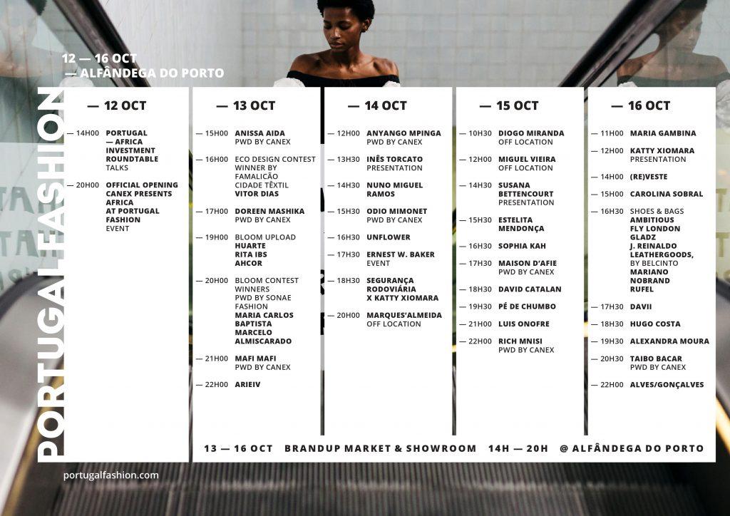 Portugal fashion line-up 2021